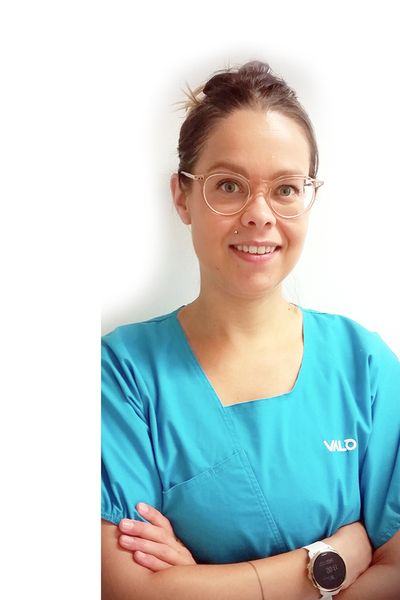 Laura Korhonen, osteopaatti